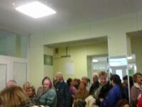 В Новгородских поликлиниках не протолкнуться